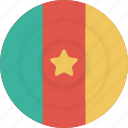 cameroon, country, flag, geography, national, nationality