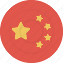 china, country, flag, geography, national, nationality icon
