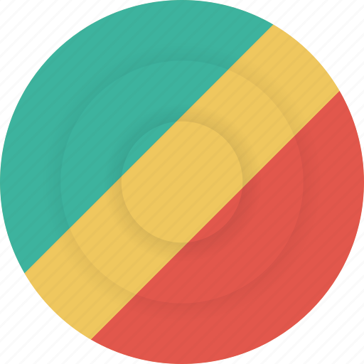 congo, country, flag, geography, national, nationality icon