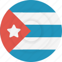 country, cuba, flag, geography, national, nationality icon