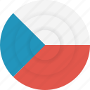 country, czech, czech republic, flag, geography, national, nationality icon