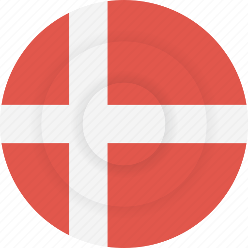 country, denmark, flag, geography, national, nationality icon