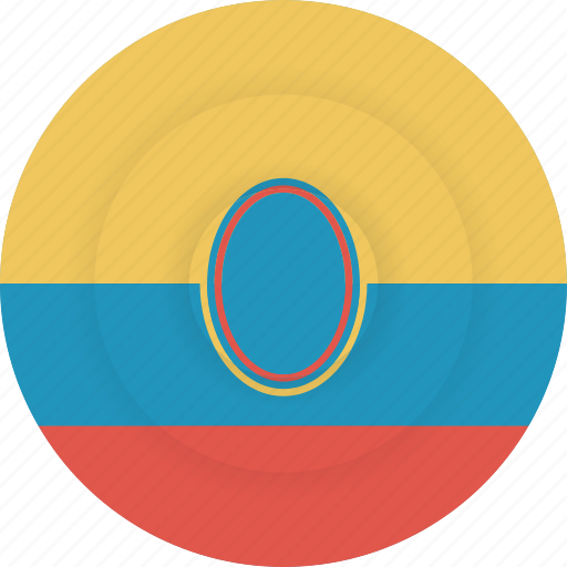 country, ecuador, flag, geography, national, nationality icon