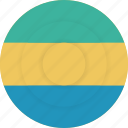 country, flag, gabon, geography, national, nationality