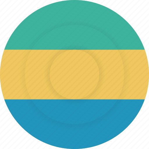 country, flag, gabon, geography, national, nationality icon