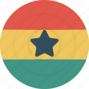country, flag, geography, ghana, national, nationality