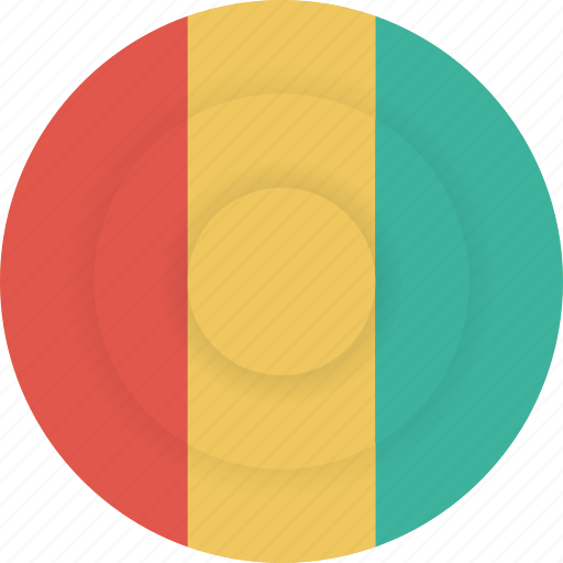 country, flag, geography, guinea, national, nationality icon