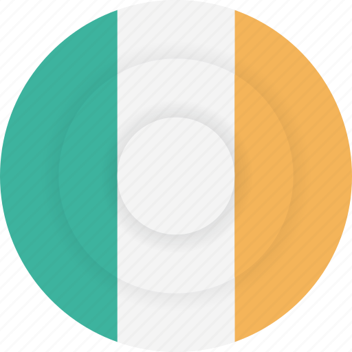 country, flag, geography, ireland, national, nationality icon