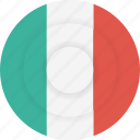 country, flag, geography, italy, national, nationality