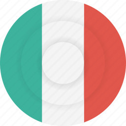 country, flag, geography, italy, national, nationality icon
