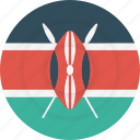 country, flag, geography, kenya, national, nationality