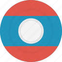country, flag, geography, laos, national, nationality