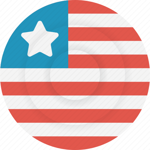 country, flag, geography, liberia, national, nationality icon