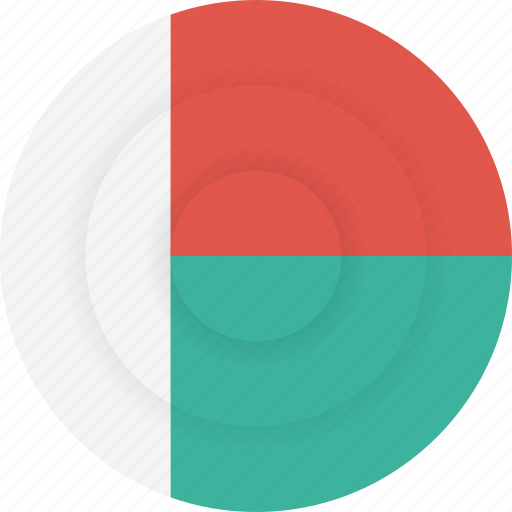 country, flag, geography, madagascar, national, nationality icon