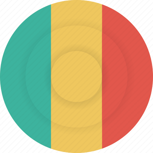 country, flag, geography, mali, national, nationality icon