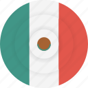 country, flag, geography, mexico, national, nationality icon