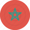 country, flag, geography, morocco, national, nationality icon