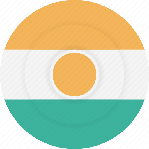 country, flag, geography, national, nationality, niger icon