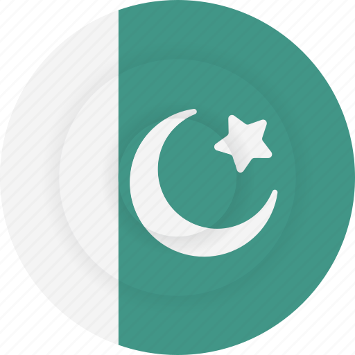 country, flag, geography, national, nationality, pakistan icon