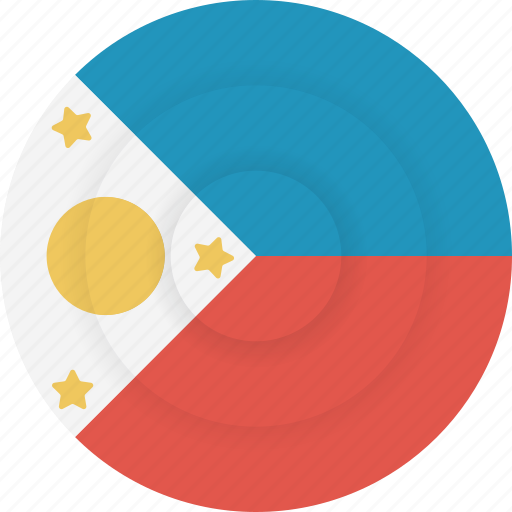 country, flag, geography, national, nationality, philippines icon