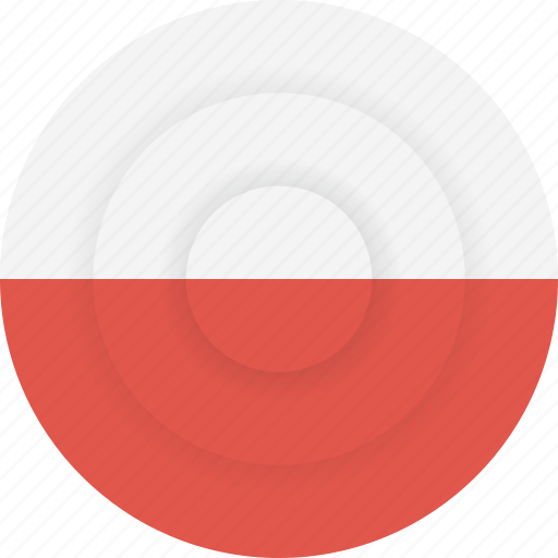 country, flag, geography, national, nationality, poland icon