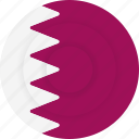 country, flag, geography, national, nationality, qatar