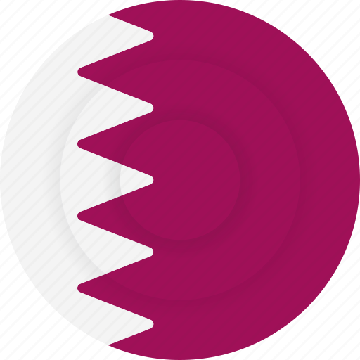 country, flag, geography, national, nationality, qatar icon