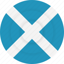 country, flag, geography, national, nationality, scotland icon