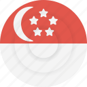 singapore, country, national, flag, nationality, geography