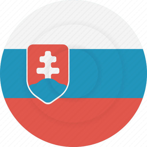 country, flag, geography, national, nationality, slovakia icon