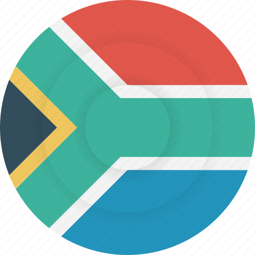 africa, country, flag, geography, national, nationality, south africa icon
