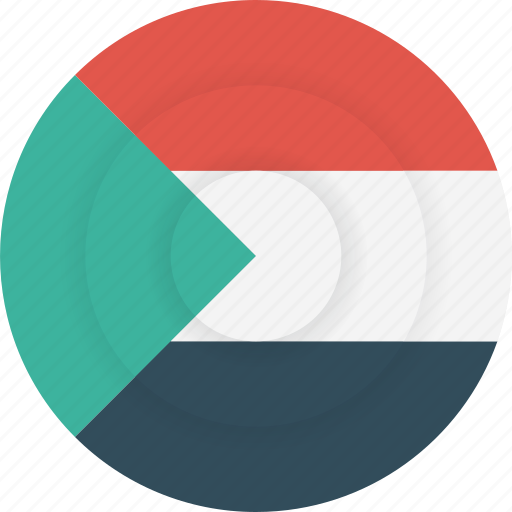 country, flag, geography, national, nationality, sudan icon