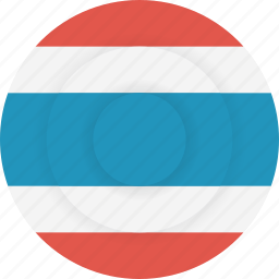 country, flag, geography, national, nationality, thailand icon
