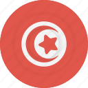 country, flag, geography, national, nationality, tunisia