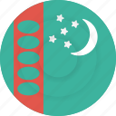 country, flag, geography, national, nationality, turkmenistan