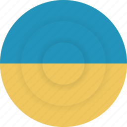 country, flag, geography, national, nationality, ukraine icon