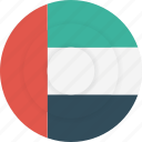 country, emirates, flag, geography, national, nationality, united arab emirates icon