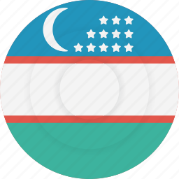country, flag, geography, national, nationality, uzbekistan icon