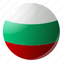 bolgaria, circle, country, flag, flags, national, round icon