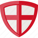 england, flag, shield icon