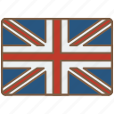 britian, country, flag, great, international icon