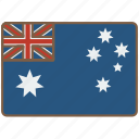 australia, country, flag, international icon