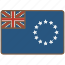 cookislands, country, flag, international icon