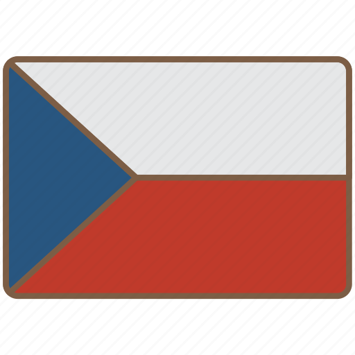 country, czech, flag, international, republic icon