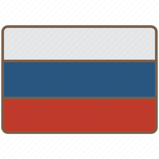 country, flag, international, russia icon