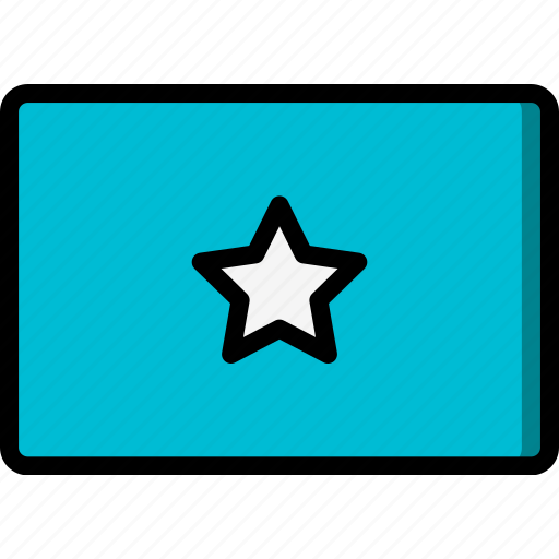 Country, flag, international, somalia icon - Download on Iconfinder
