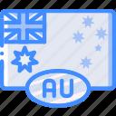 australia, country, flag, international icon