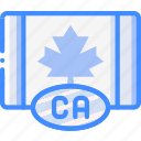canada, country, flag, international icon