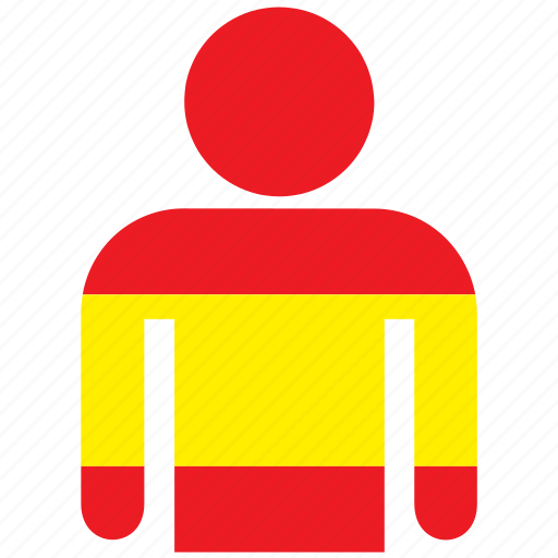 country, flag, flags, jersey, shirt, spain, t-shirt icon