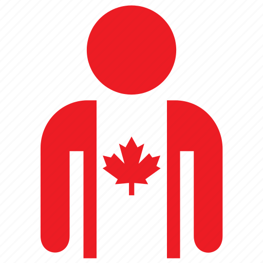 avatar, canada, canadian, country, flag, flags, shirt icon